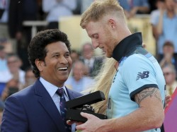 Icc Compares Sachin Tendulkar With Ben Stokes Again Trolled In Social Media