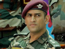 Ms Dhoni Sung Main Pal Do Pal Shayar Hu In Army Uniform