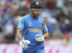 Report Suggests Dhoni Had Played England World Cup With Fracture