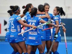 India S Women Hockey Team Hold Australia 2 2 In Olympic Test