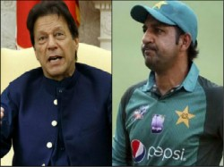 Ind Vs Pak Pakistan Imran Khan Took Dig Sarfaraz Ahmed For Bowling First Vs India In 2019 World Cup