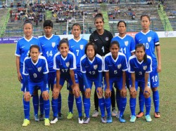 Women S Football Team Of India Beats Bolivia In Cotif Cup