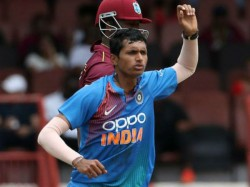 Ind Vs Wi 3rd Odi Pacer Navdeep Saini Debut In Odi In Cuttack
