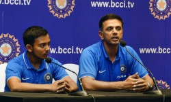 Rahul Dravid Coach Of The 2018 U 19 World Cup Winning Team Set To Be Replace