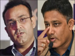 Virender Sehwag Wants To See Anil Kumble As Chairman Of Selectors