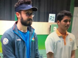 Abhishek Wins Gold In Issf World Cup For India Bronze For Sourav