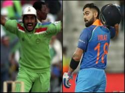 Kohli Breaks Miandad S Record In Terms Of Most Odi Runs Against Wi
