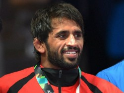 Wrestler Bajrang Punia Receives Khel Ratna From Sports Minister Kiren Rijiju