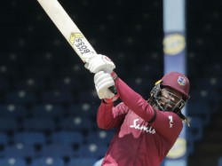 Chris Gayle S 116 Goes In Vain As St Kitts Chase Down Record Target