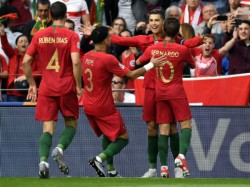 Uefa Euro 2020 Qualifiers Portugal Win 5 1 Aginst Lithuania 4 Goals By Ronaldo France Eng Win
