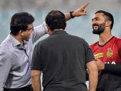 Dinesh Karthik And Yuvraj Singh Share A Hilarious Moment With Sourav Ganguly