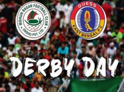 Mohun Bagan Vs East Bengal Kolkata Derby Calcutta Football League