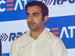 Gautam Gambhir Says Came In The Support Of Rishabh Pant