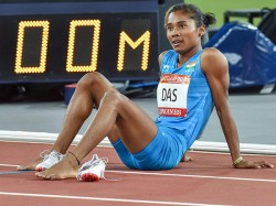 Athlete Hima Das S Name Is Nominated For Khel Ratna Award