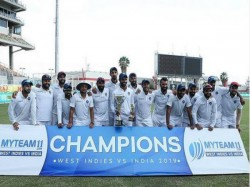 Ind Vs Wi India Win 2nd Test Against Wi By 257 Runs Series Win By 2