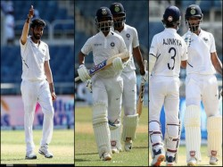 Ind Vs Wi From Bumrah S Hat Trick To Rahane Hanuma Vihari S Centuries 7 Moments In Test Series