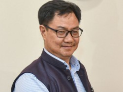 Kiren Rijiju Writes To Uk Secretary For Shooting Inclusion In Cwg