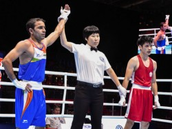Boxer Amit Panghal Seals His Maiden World Championship Medel By Entering In Semis