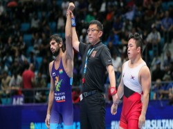 World Wrestling Championships 2019 Ravi Kumar Dahiya Wins Bronze