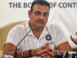 Indian Team Head Cocah Ravi Shastri Discuss Cricket With Shikhar Dhawan Over Coffee
