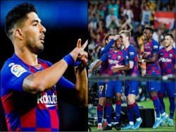 La Liga Barcelona Beat Valencia By 5 2 Goals