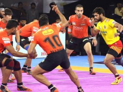 Pro Kabaddi 2019 Mumbai Delhi Match Draw Up Yoddha Beat Bengaluru Bulls