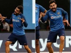 Ind Vs Sa Virat Kohli S Kiddish Gestures Goes Viral In Internet