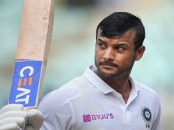 Mayank Agarwal Overtakes Steve Smith With The Double Hundred