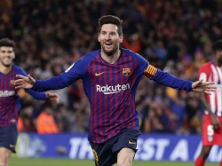 Lionel Messi Scores Twice As Barcelona Won By 4 Goals