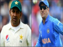 Sarfaraz Ahmed S Wife Draws Comparison Between Her Husband And Dhoni