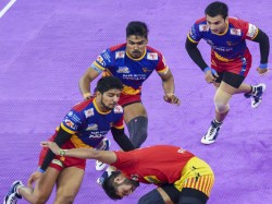 Up Yoddha And Patna Pirates Win Pro Kabaddi League Match