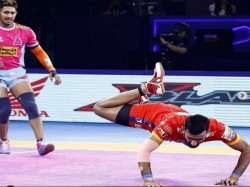 Pro Kabaddi League 2019 Telugu Titans Beat Up Yoddha By 41
