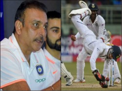 Ravi Shastri Praises The Effort Of Wriddhiman Saha