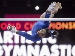 Simone Biles Breaks Medals Record In Gymnastics World Championship