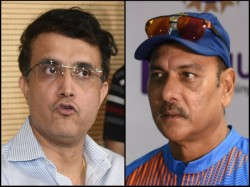 Sourav Ganguly Wants Ravi Shastri S Inputs In Nca