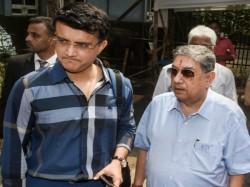 Sourav Ganguly Files Nomination For Bcci President