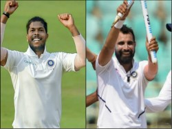 Ind Vs Sa Umesh Yadav Celebrates Early Diwali Mohammed Shami Happy Make Batsmen Dance