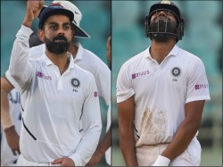 Virat Kohli 2nd Indian Captain After Dhoni To Lead In 50 Tests Rohit Out For 14 Runs