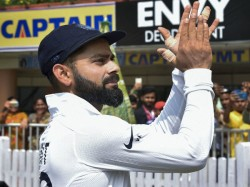 Virat Kohli Has Shown Playing Gully Cricket In Indore