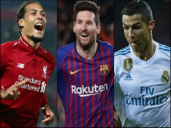 Ronaldo Messi And Van Dijk In Ballon D Or List Neymar Missed Out