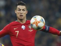 Ronaldo S Hattrick Keeps Alive Hope Of Portugal England France Reach Euro