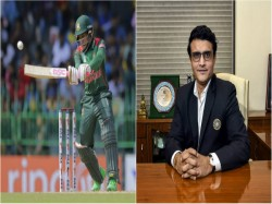 Bcci President Sourav Ganguly Congratulates Bangladesh After Win Against India