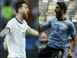 Argentina 2 2 Draw With Uruguay Lionel Messi S Late Penalty Saves Argentina