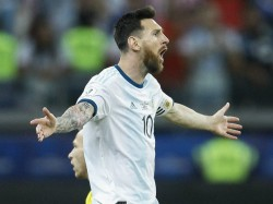 Argentina Beat Brazil In Friendly Match Messi Scores