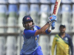 Fit Prithvi Shaw Bats In Nets Before New Zealand Tour