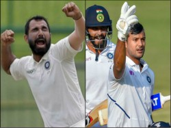 Mohammed Shami Mayank Agarwal Achieve Career Best Test Ranking After Ind Win In Indore Vs Ban