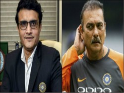 Ravi Shastri Says I Was One Of The First To Congratulate Sourav Ganguly On Becoming Bcci Presiden