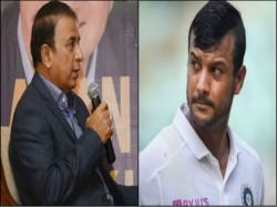 Sunil Gavaskar Praises Mayank Agarwal Effort Against Bangladesh