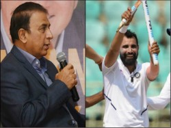 Sunil Gavaskar Hails On Mohammad Shami S Performance