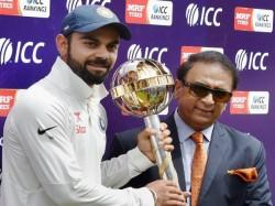 Gavaskar Hits Back Kohli Against Comments On Sourav
